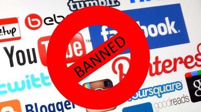Official Internet   FBR Slaps Ban on Social Media, Streaming Sites, Downloading