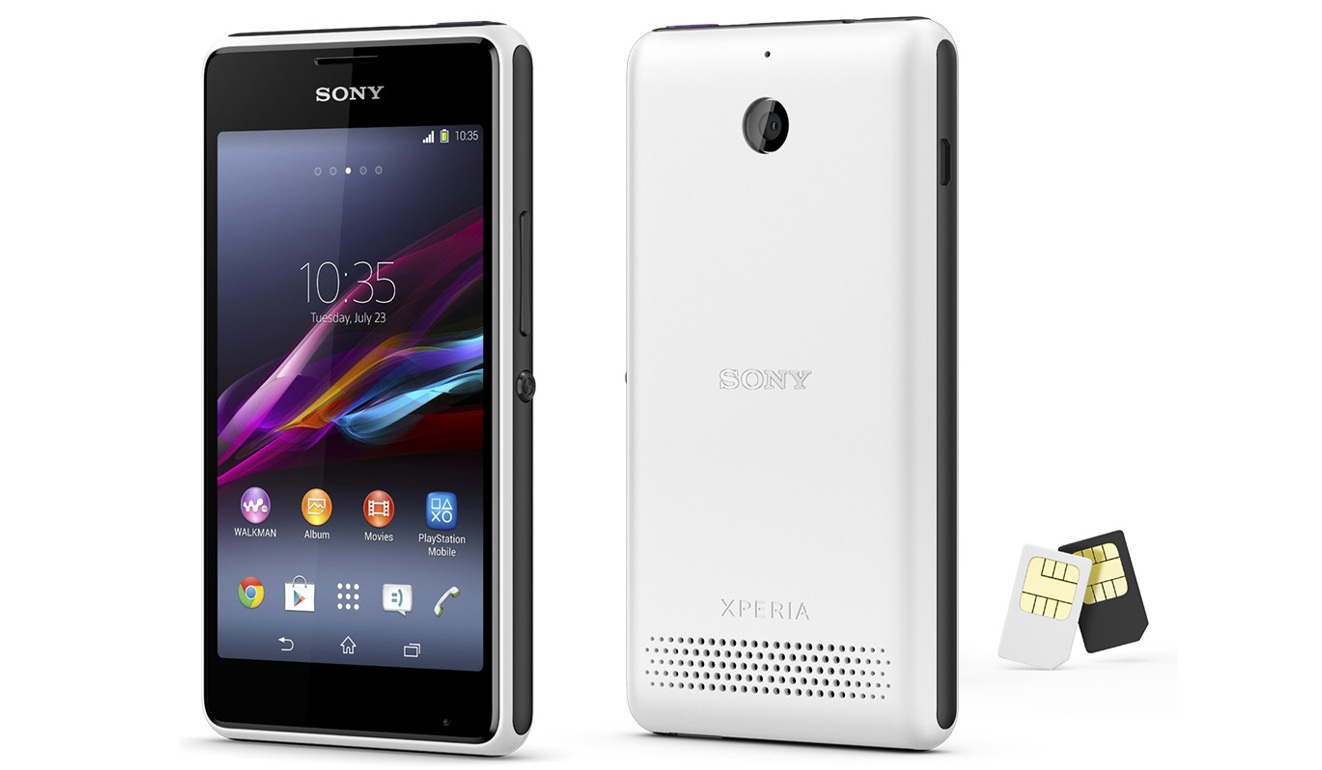 Cara Flashing Sony Xperia E1 Dual D2104 Bootloop / Mati total