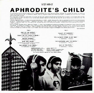 APHRODITE'S CHILD - END OF THE WORLD [Rain And Tears] (1968) back