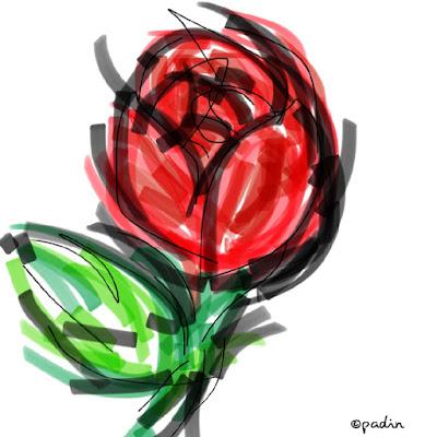 bunga mawar mewangi