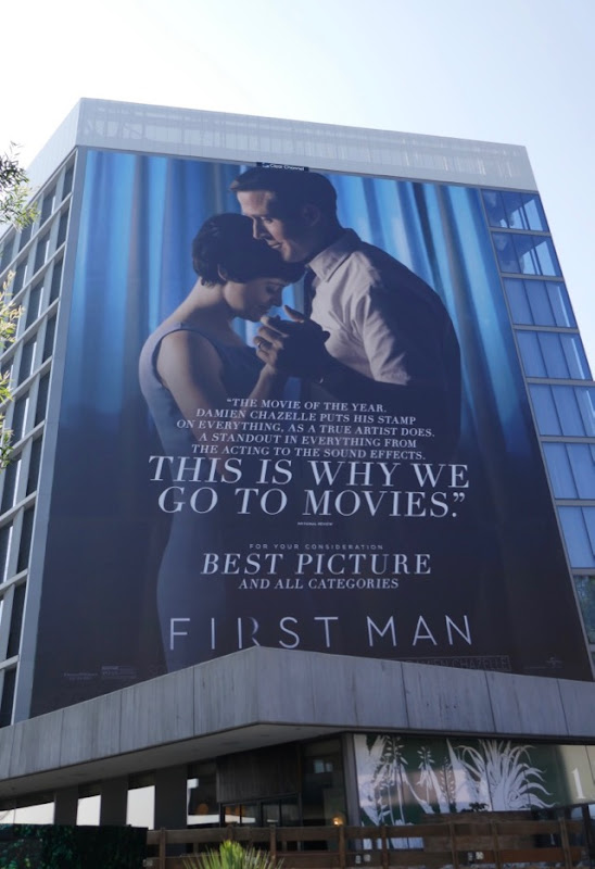 Giant First Man For your consideration billboard