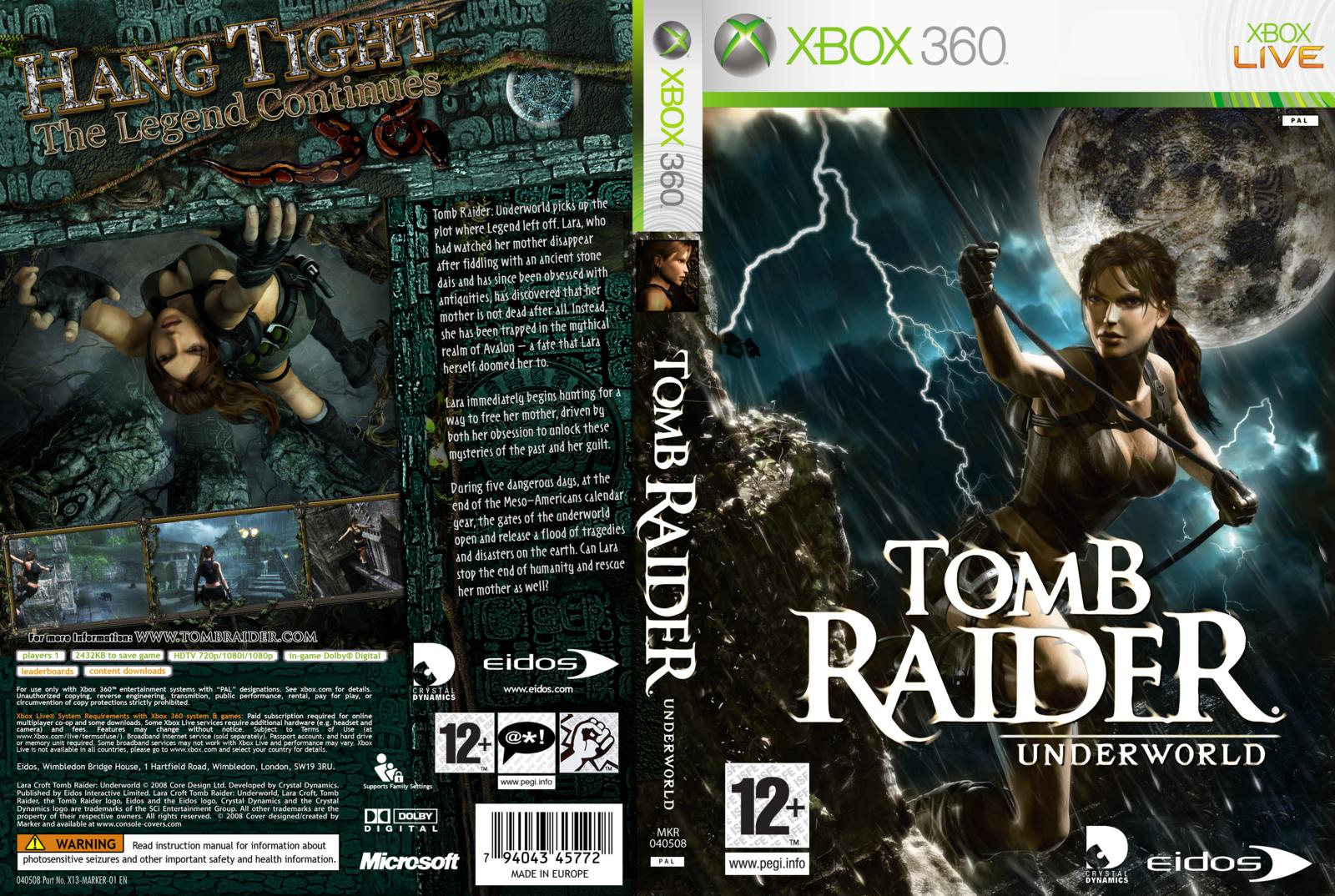 17860 tomb raider underworld print