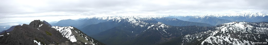 mount angeles summit panoramic