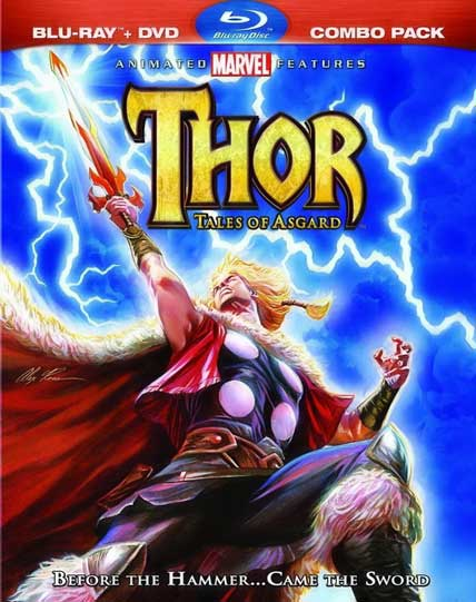 Thor Tales of Asgard 2011 Hindi Dual Audio 720p BRRip 950MB