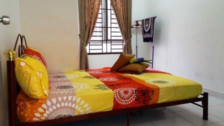 Bilik Tidur Ketiga Homestay di Johor Bahru