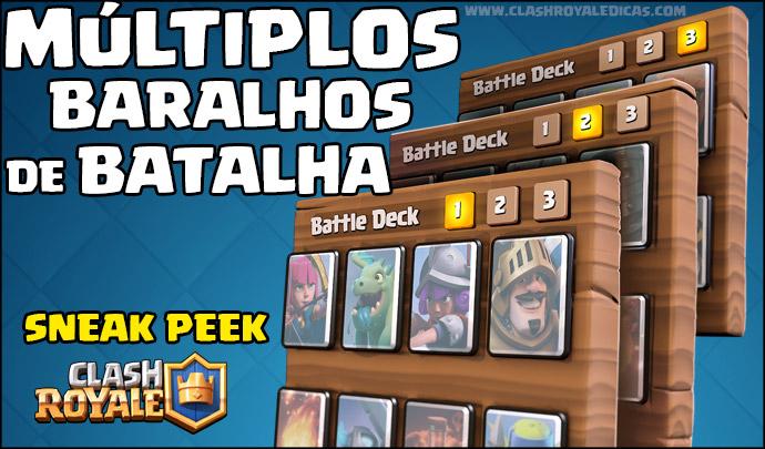Sneak Peek #02 - Múltiplos Decks de Batalha - 1