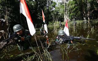 Patroli Prajurit TNI