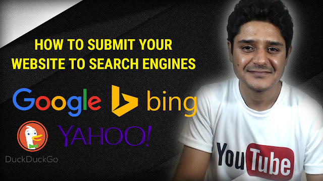 Submit your website and blog to Google, yandex, bing and baidhu search engines