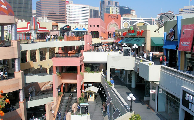 Compras nos diversos centros comerciais de San Diego