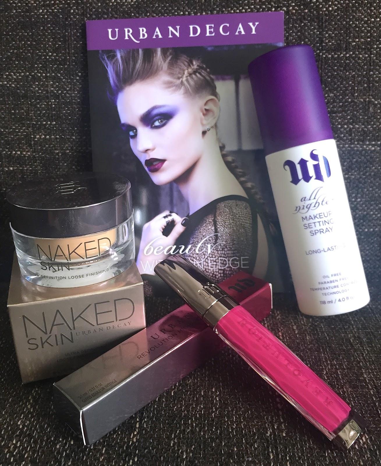 Makeup Secret: 碎粉新寵 Urban Decay! ️