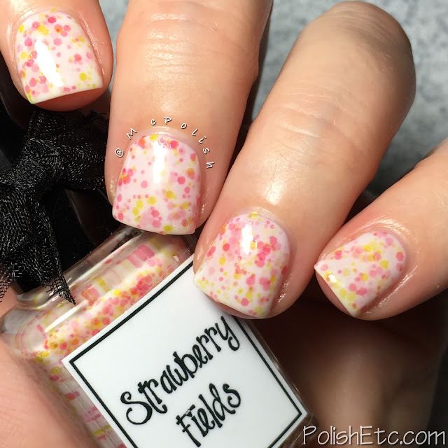 Whimsical Ideas by Pam - Summer 2016 Collection - McPolish - Strawberry Fields