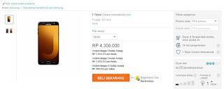 Harga Samsung Galaxy J7 Max di eLifeStoreIndonesia - Lazada