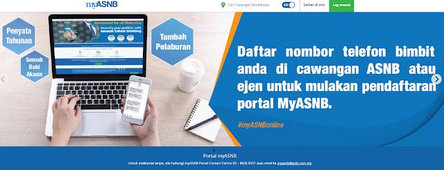 Cara Check Akaun ASB Secara Online