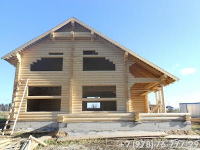 Русский дом строительство деревянных домов