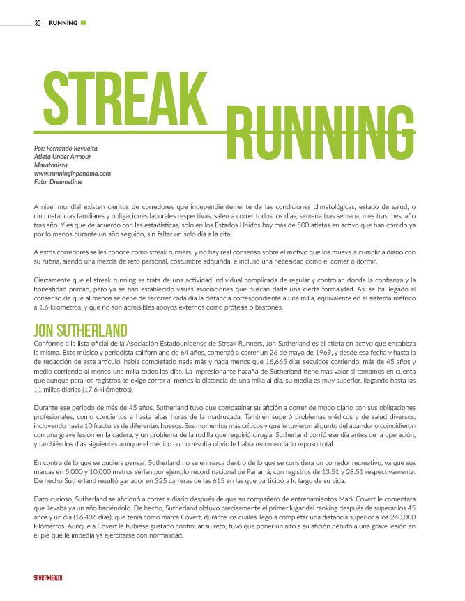 13730042a Streak Runners. Streak Running.