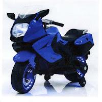 Motor Mainan Aki Hugo HE8103 B&W