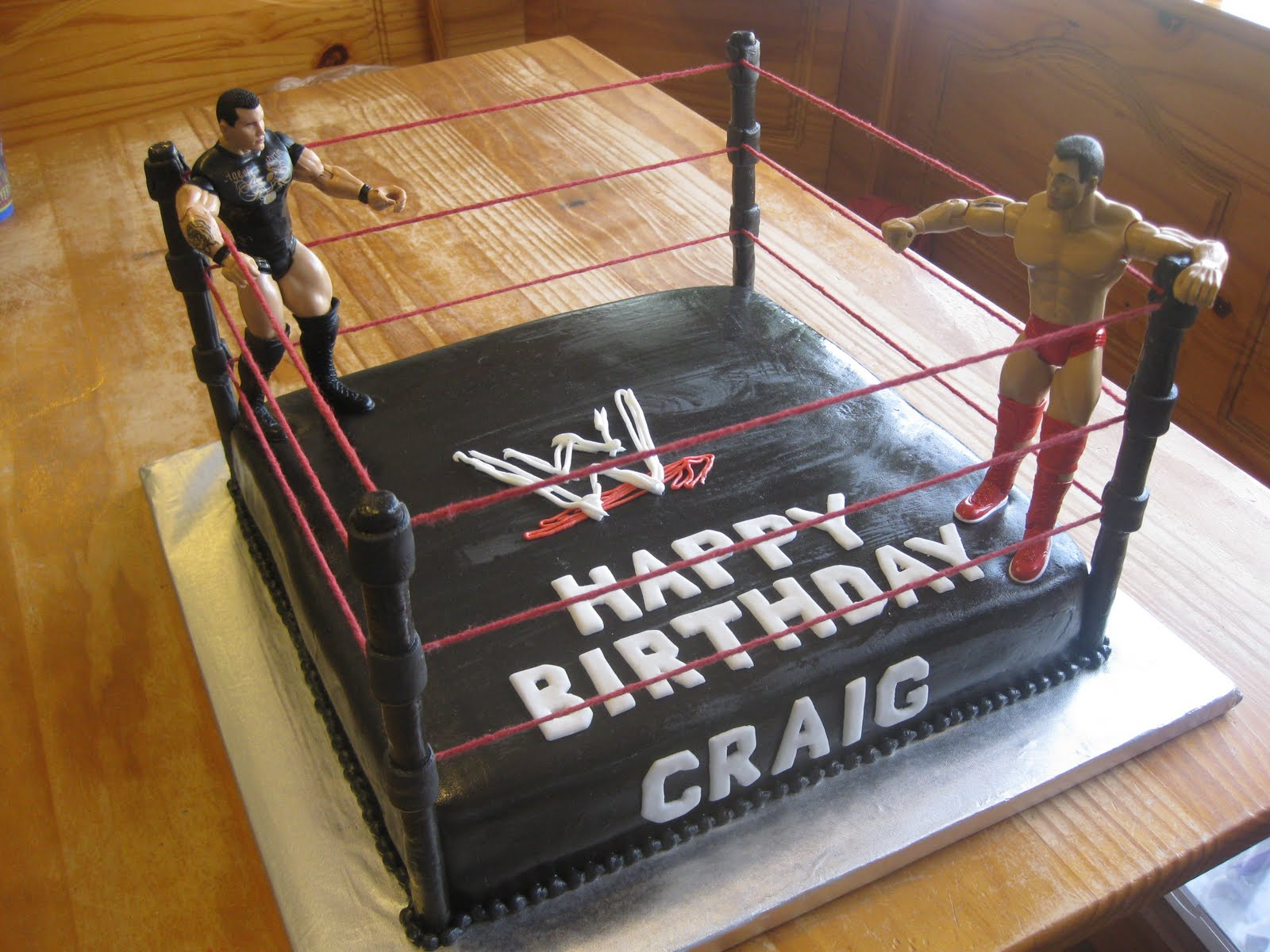 Cakes By Janelle Wrestling Cake