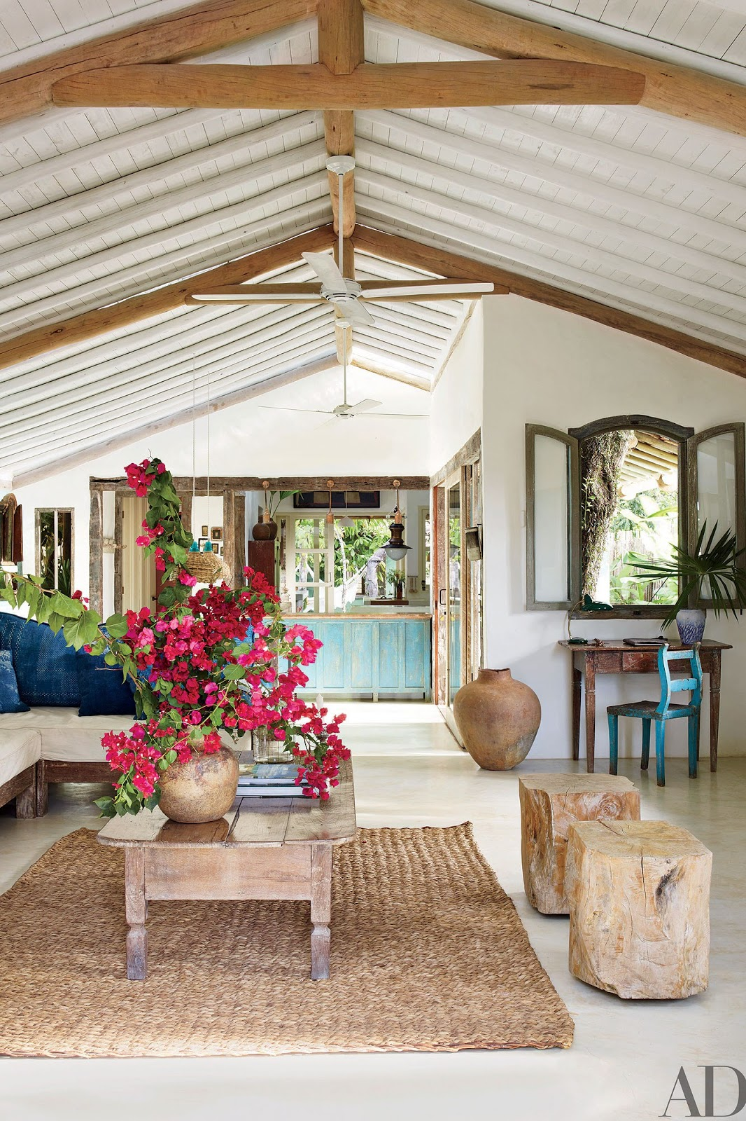 Anderson Cooper S Brazilian Rest House Is A Vintage And Rustic Dream