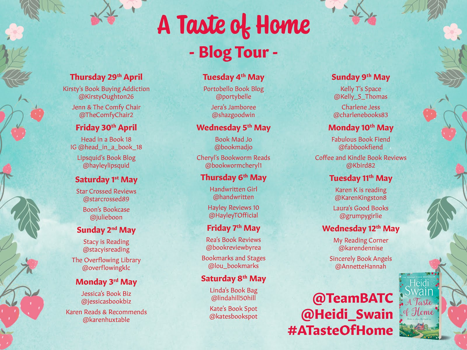 A Taste of Home Blog Tour