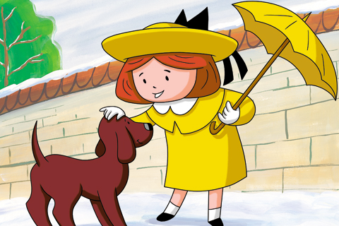 Madeline, desenho,uma garota chamada sam