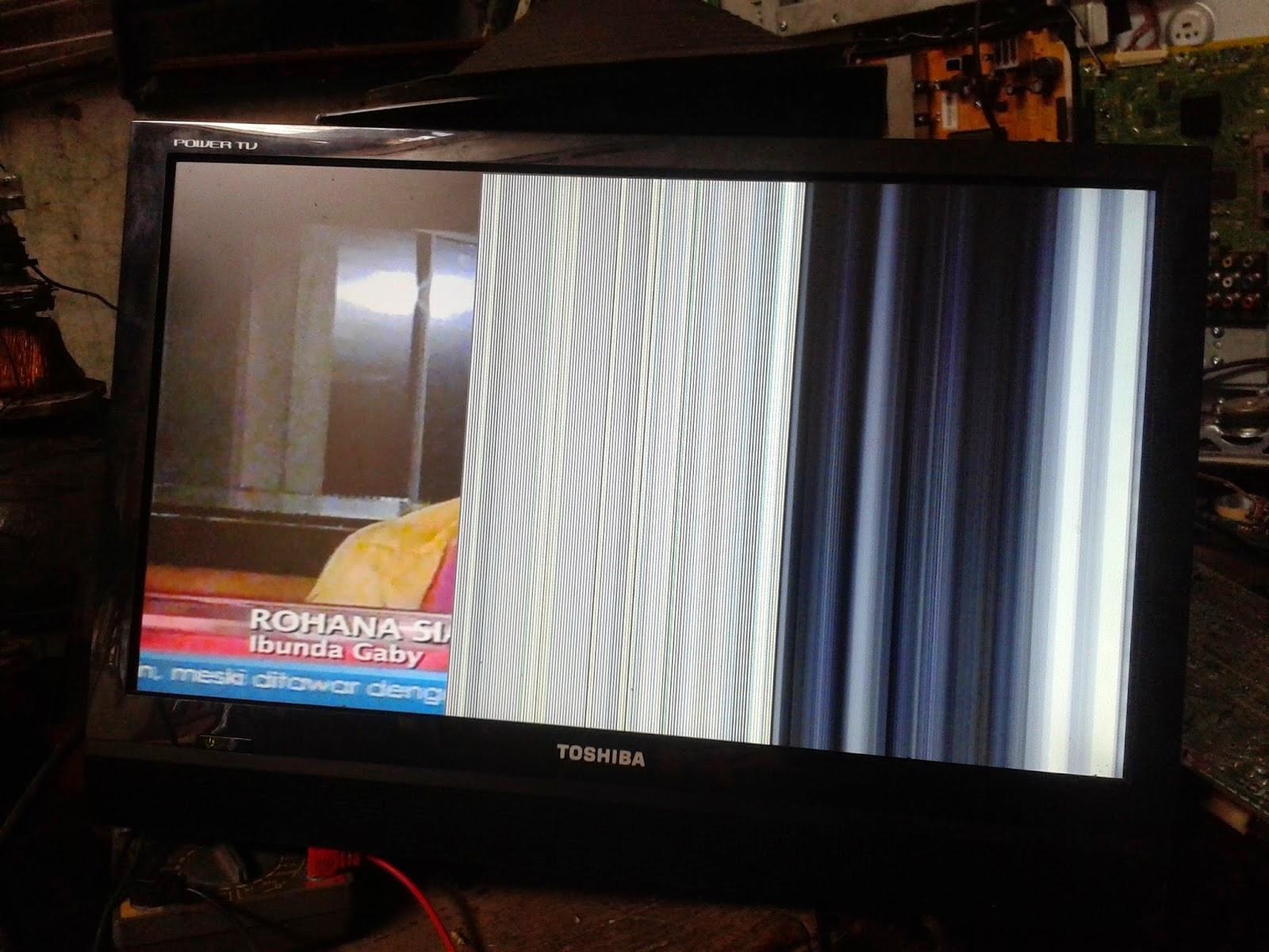 Tv Lcd Led Gambar Cuma Setengah