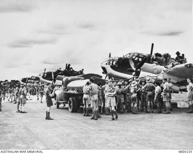 Australian-built Beaufort fighters, 25 December 1941 worldwartwo.filminspector.com