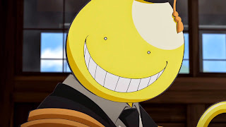 Uśmiechniety Koro-sensei Wallpaper