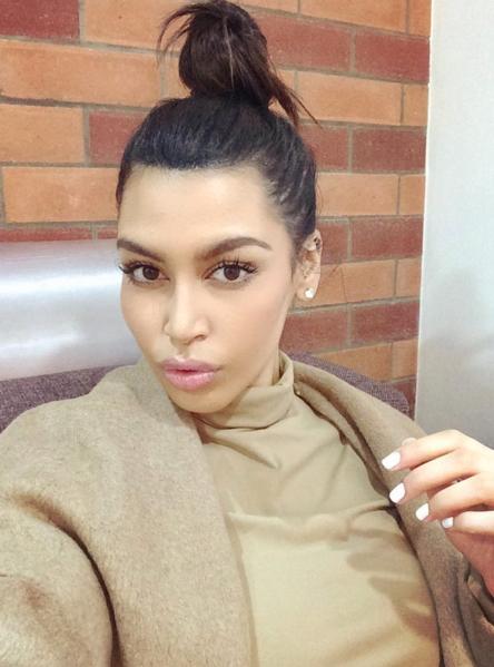 kim kardashian look alike dubai