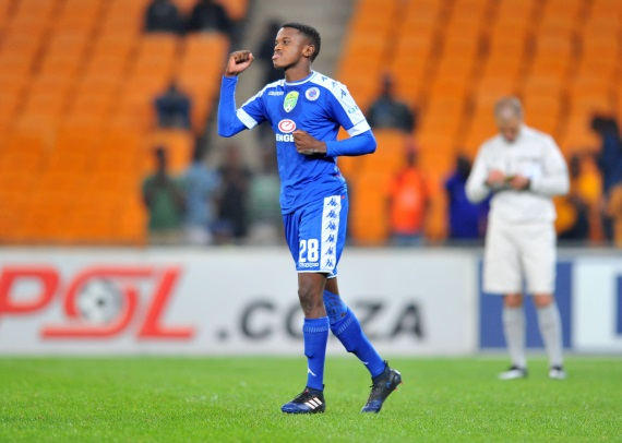 Teboho Patrick Mokoena  of SuperSport United