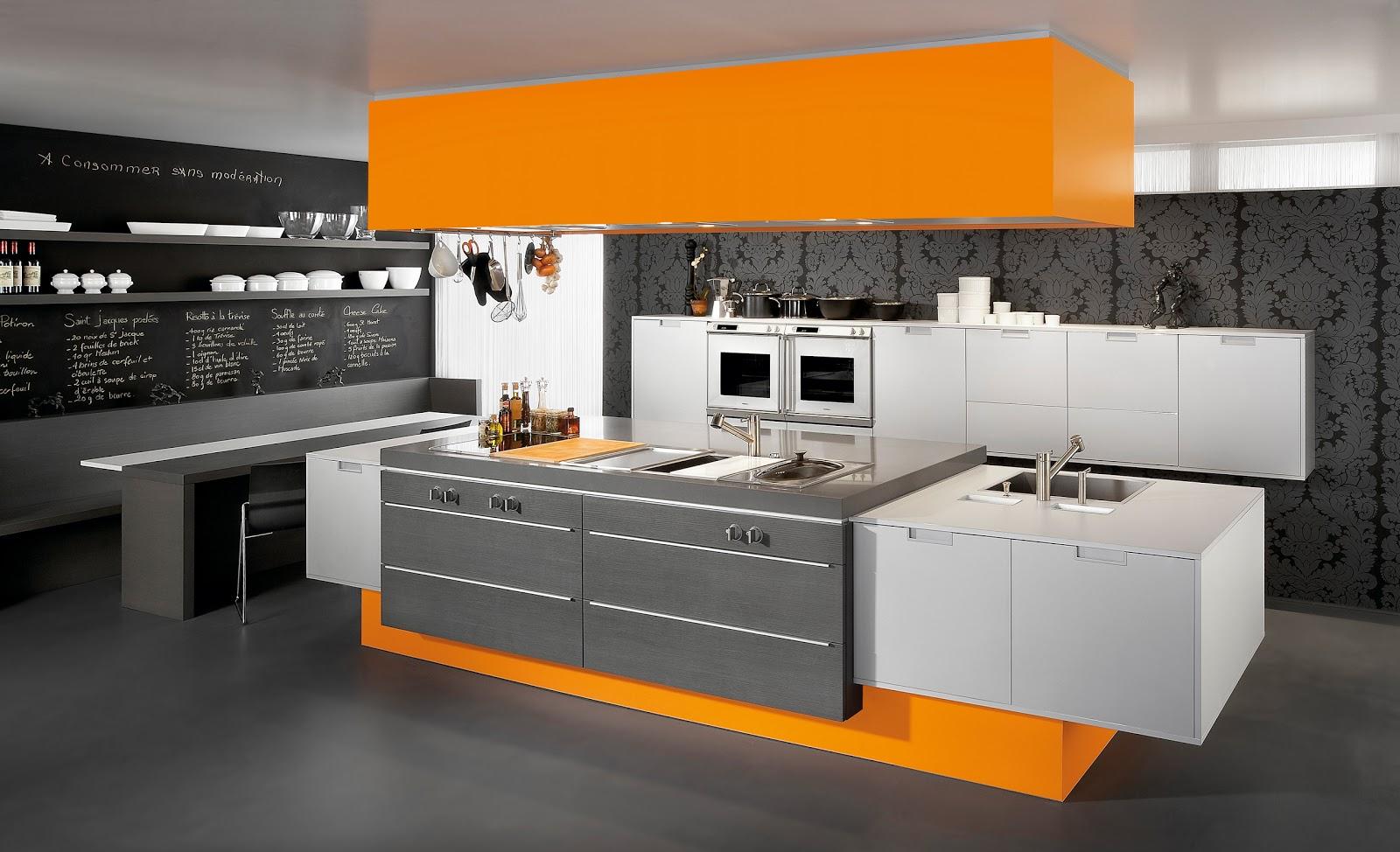 cuisine-decoration: deco moderne