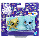 Littlest Pet Shop Series 2 Sparkle Pets Fancie Cheeta (#2-S6) Pet