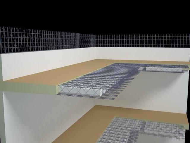 Liên kết Sàn phẳng - Tường Phẳng