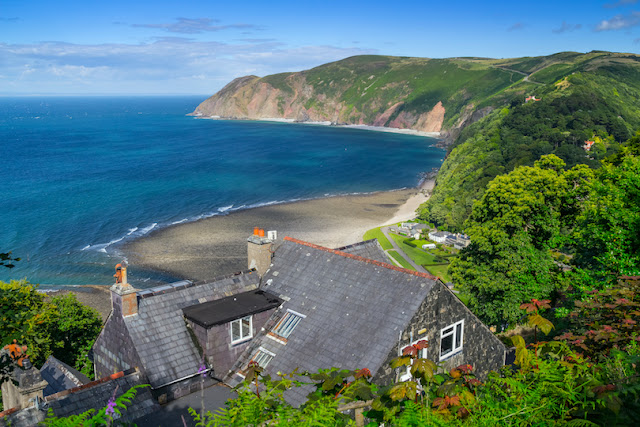Lynton and Lynmouth, England