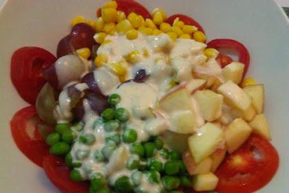 Resep Cara Membuat Salad Buah Segar