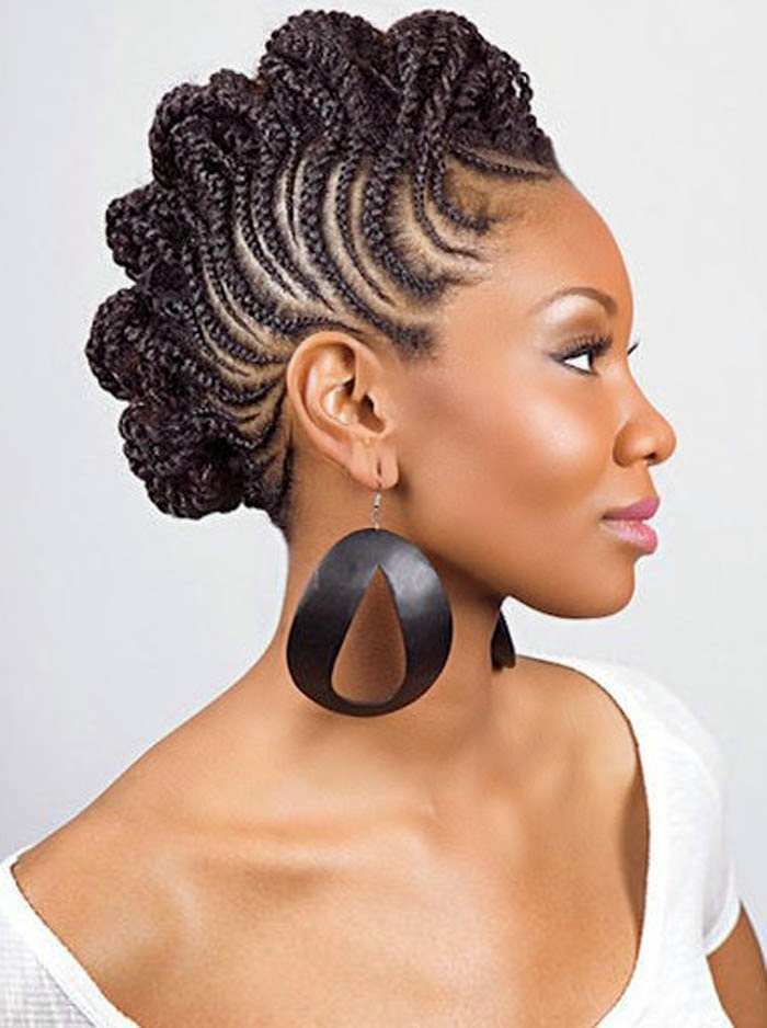 Updo Hairstyles, Updo Braids For Natural Hair, Updo ...