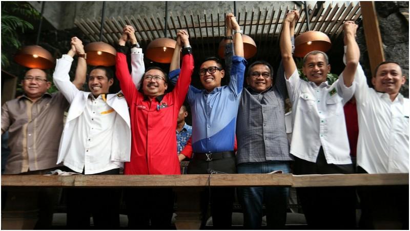 Tujuh parpol di DKI mendeklarasikan Koalisi Kekeluargaan
