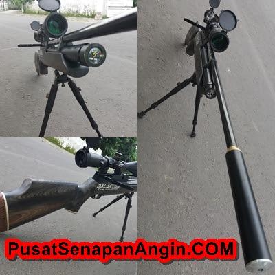 senapan pcp air arm lokal side lever
