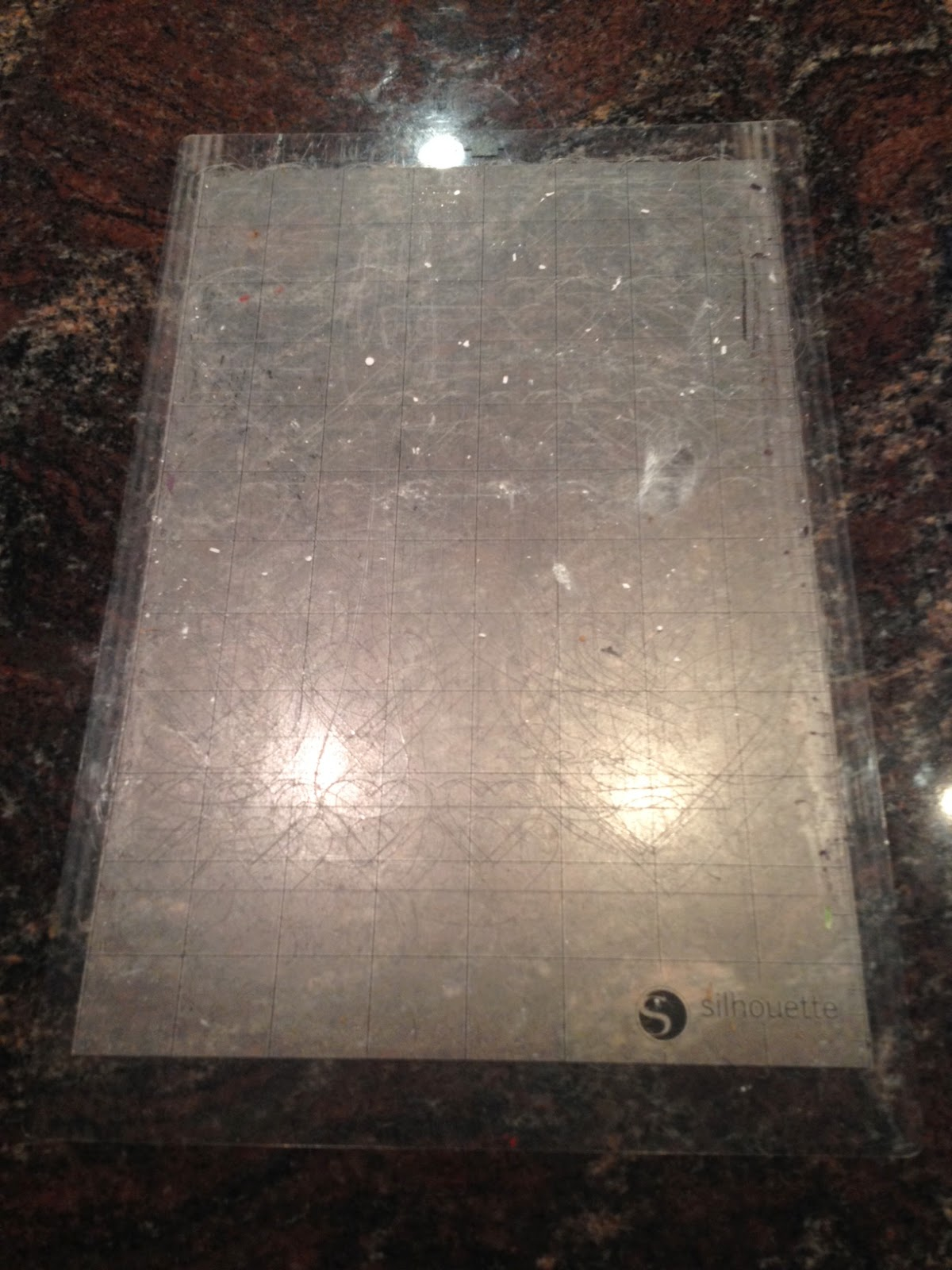 Cutting mat, Silhouette, cleaning, remove, lint, dust, paper