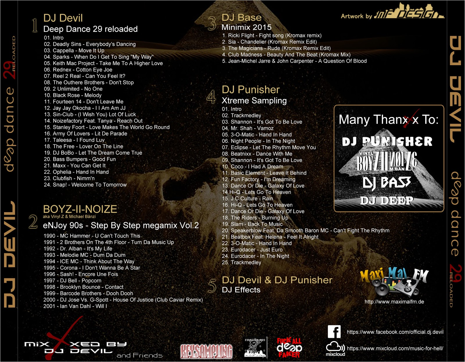 Dj Devil - Devil Dance 11 (Deep Dance Reloaded 29) Mixfreaks podcast