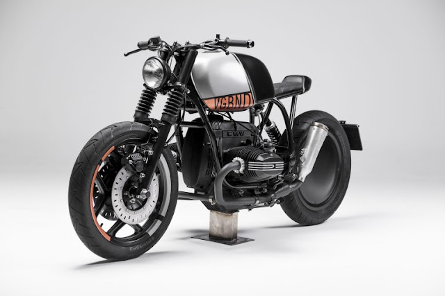 BMW R80RT 1992 By Vagabund Moto Hell Kustom