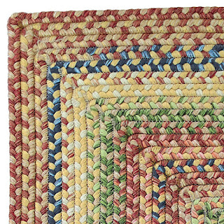 Polypropylene braided rug