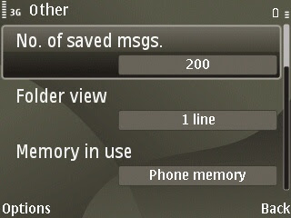 inbox messages is not opened because memory of full