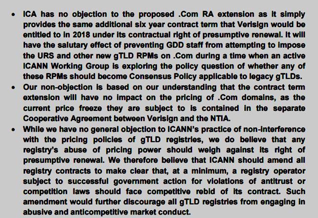 Domain Mondo Domainmondo Comment To Icann On Proposed