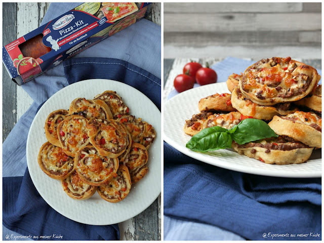 Pizzaschnecken mit Hackfleischfüllung | Rezept | Essen | Kochen