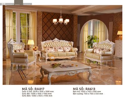 Những mẫu ghế sofa phòng khách nhập khẩu miễn chê