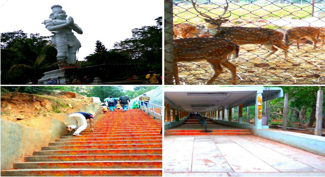 difference between srivari steps and allipiri step