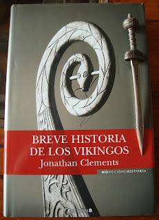 Portada del libro Breve historia de los vikingos, de Jonathan Clements