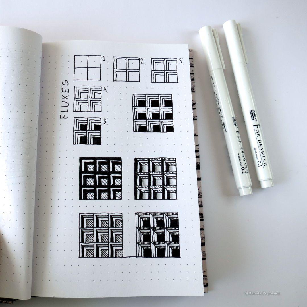 Jak nauczyć się rysować wzory zentangle