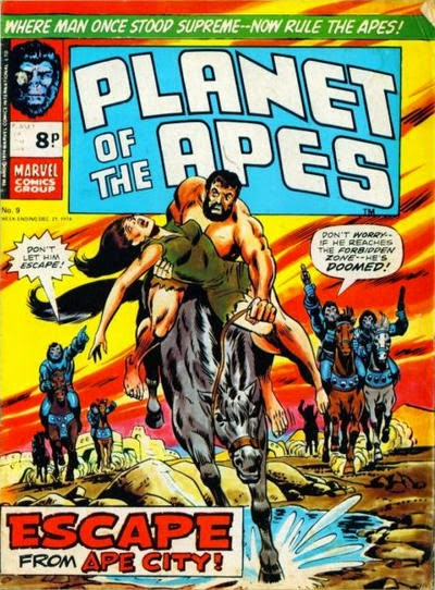 Marvel UK, Planet of the Apes #9