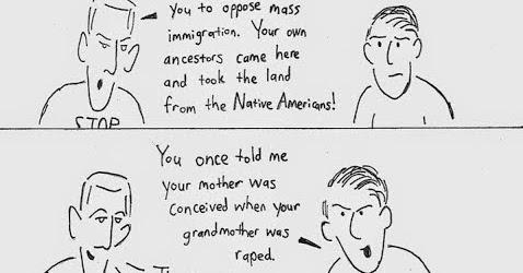 Nicholas Stix, Uncensored: Glaivester Cartoon: If You